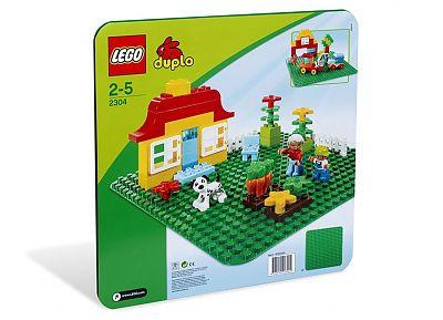 LEGO Placa verde Duplo