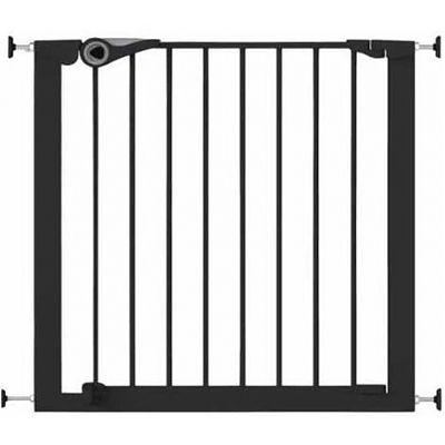 Noma Poarta de siguranta Easy Fit, presiune, 75-82 cm, metal negru