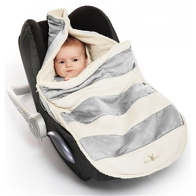 Wallaboo Port Bebe 0-12 luni Striped Silver