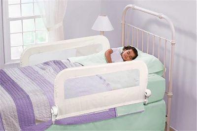 SUMMER Infant Protectie dubla de pat Grow With Me Alba