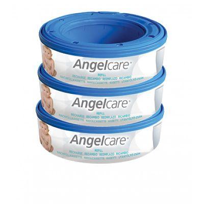 AngelCare Rezerva pentru cos ermetic scutece murdare - set 3 bucati