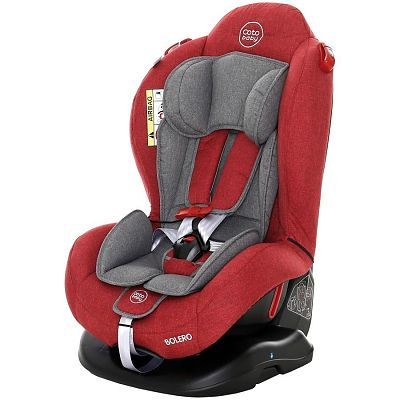 Coto Baby Scaun auto Bolero 0-25 Kg -Melange Rosu