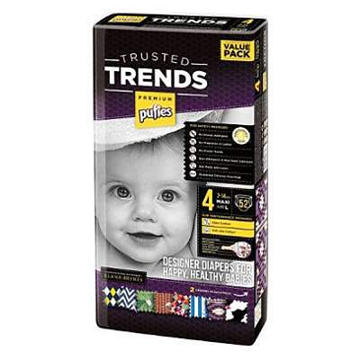 pufies Scutece nr.4 Pufies Trusted Trends Maxi, 7-14 kg, 52 buc