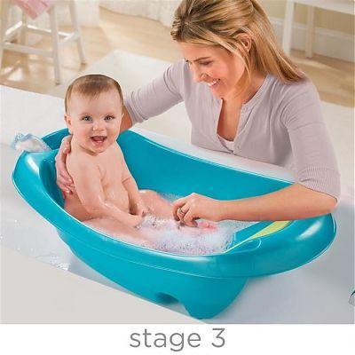SUMMER Infant Set Cadita si suport de baita Splish n Splash - Blue