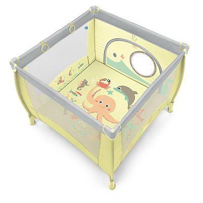 Baby Design Tarc de joaca cu inele ajutatoare Play 04 Light Green 2019