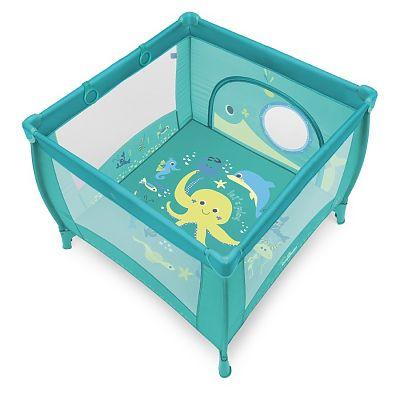 Baby Design Tarc de joaca cu inele ajutatoare Play 05 Turqouise 2018
