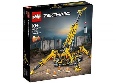 LEGO Tractor compact pe senile