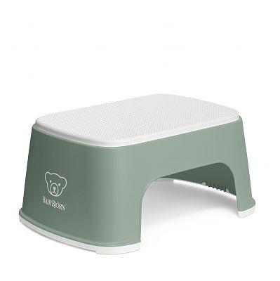 BabyBjorn Treapta inaltator pentru baie – Step Stool – Deep Green / White