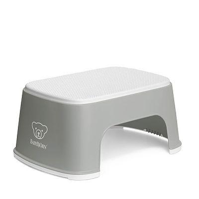 BabyBjorn Treapta inaltator pentru baie – Step Stool – Grey / White