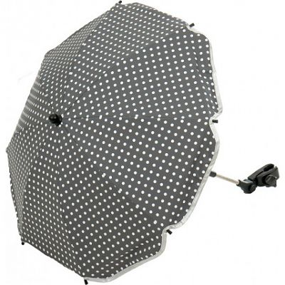Fillikid Umbrela pentru carucior 70 cm UV 50+ DOT Grey