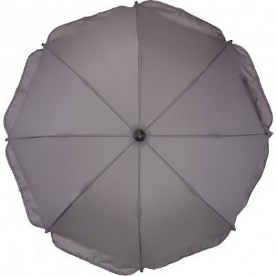 Fillikid Umbrela pentru carucior 75 cm UV 50+ Grey